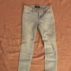 light wash girls jeans
